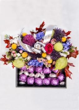 Çiçek - Çikolata